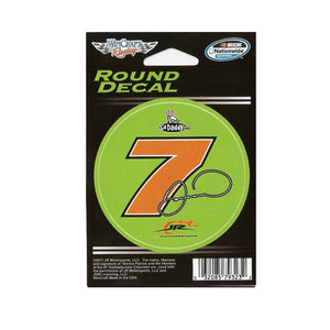 Danica Patrick Round Decal
