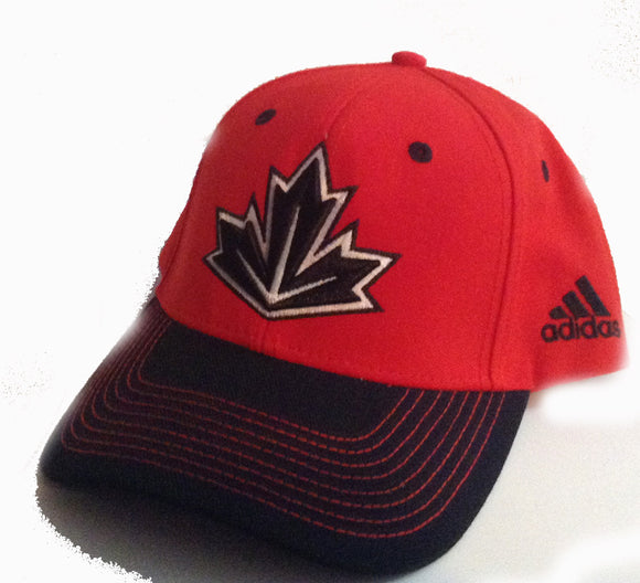 Red & Black Canada Baseball Hat