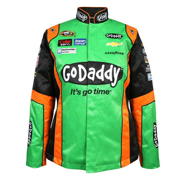Danica Patrick Godaddy Uniform Jacket Front