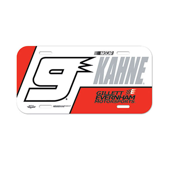 Kasey Kahne License Plate
