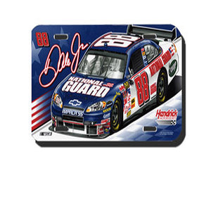 Dale Earnhardt Jr National Guard License Plate