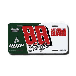 Dale Earnhardt Jr. Amp License Plate