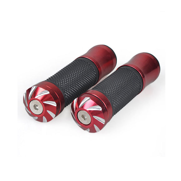 Motorcycle Red Gel Hand Grips