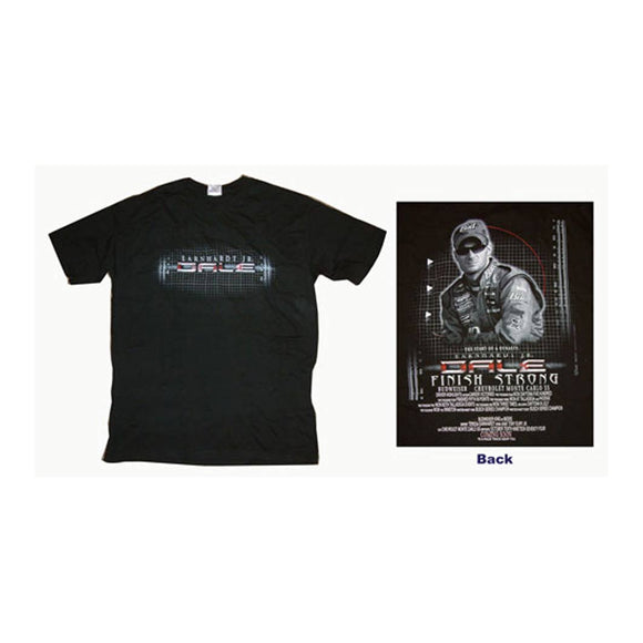 Dale Earnhardt Jr. Back in the Day Black Large T-shirt