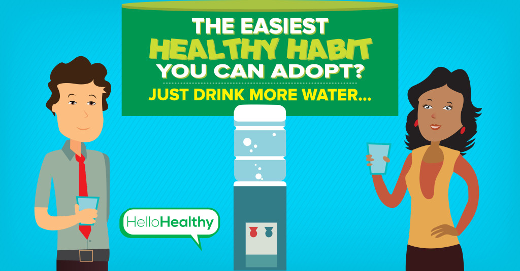 Easiest Health Habit to Adopt? Drink More Water!