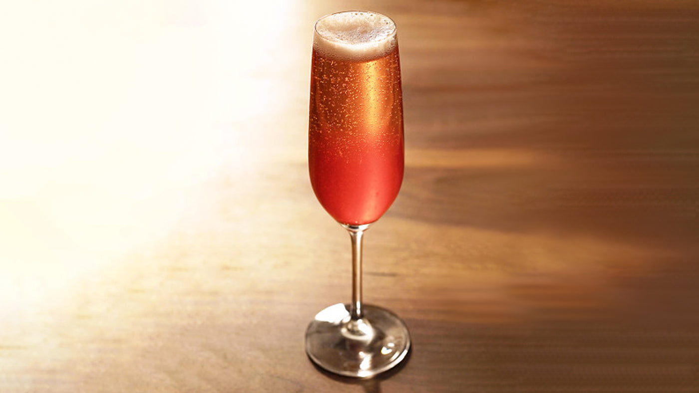 Cherry Champagne | Drinks Recipes for Summer on July