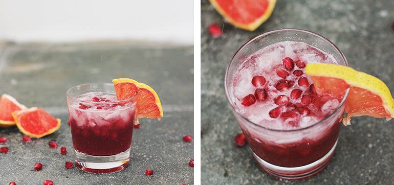 Pomegranate soda| Homemade Summer Drinks in August
