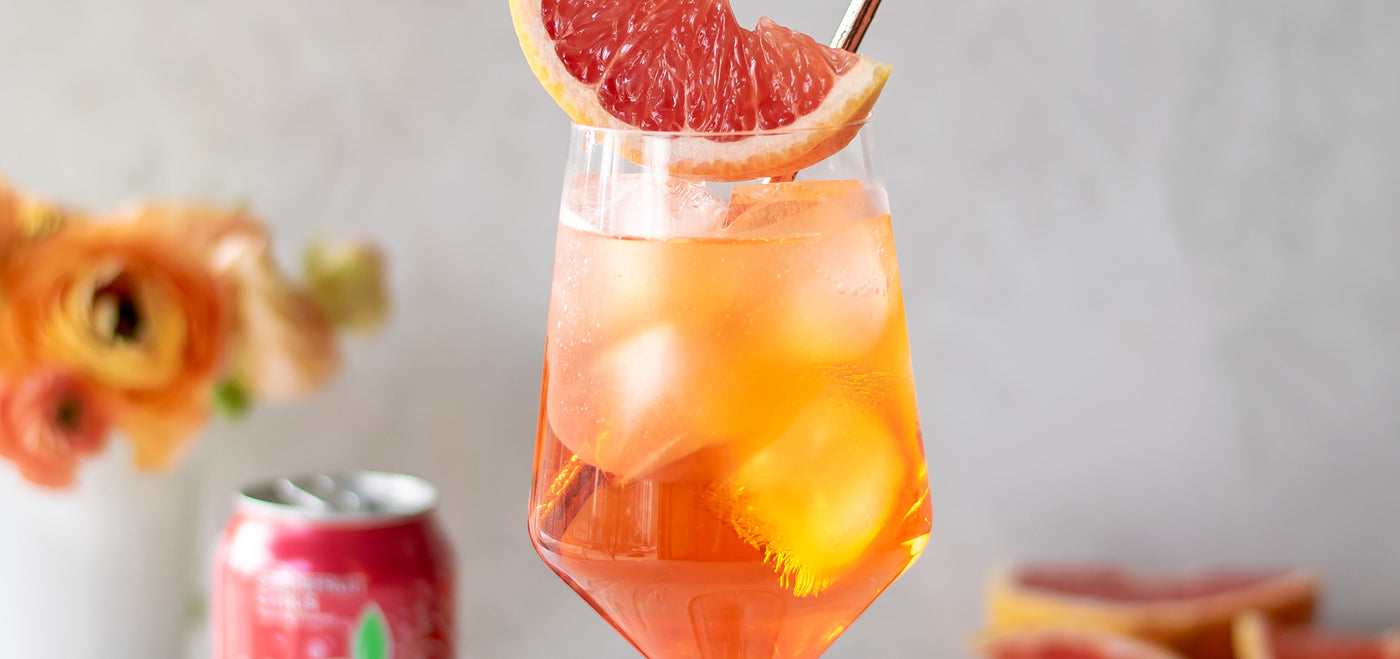 Grapefruit Iced Black Tea | Drinks Recipes for Summer in August