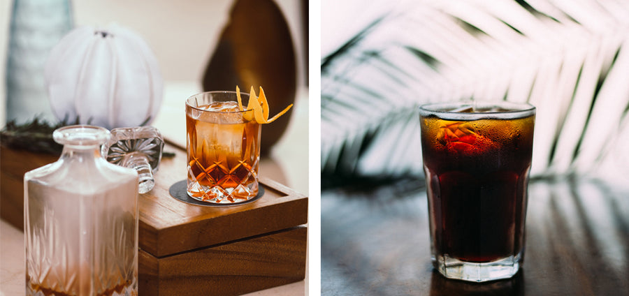 Rum Black Gold Coffee| Alcohol Drinks Recipes in August