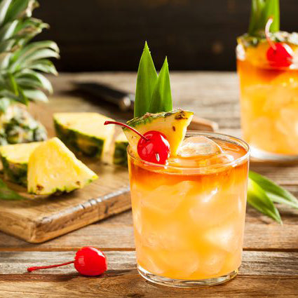 pineapple soda water