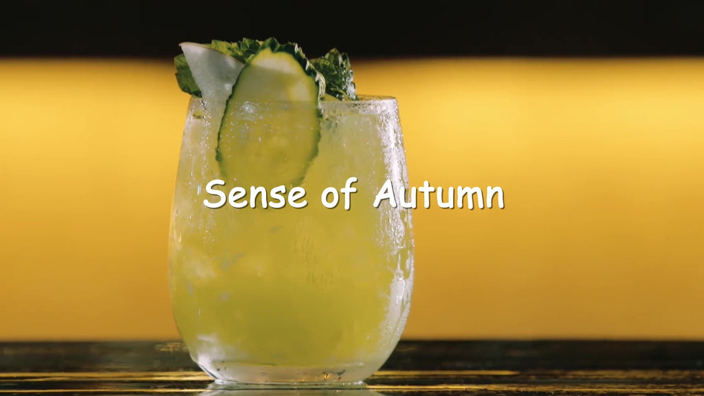 sense of pear cocktail