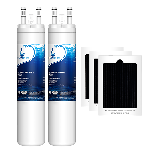 GlacialPure Filter for Frigidaire ULTRAWF, Kenmore 9999, PureSource PS2364646 (2-Pack)