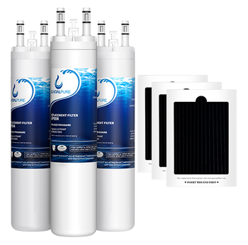 GlacialPure Filter for Frigidaire ULTRAWF, Kenmore 9999, PureSource PS2364646 (3-3Pack)