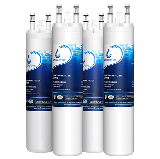 GlacialPure 4 Pack compatible with ULTRAWF, 46-9999, PureSource PS2364646 gpe
