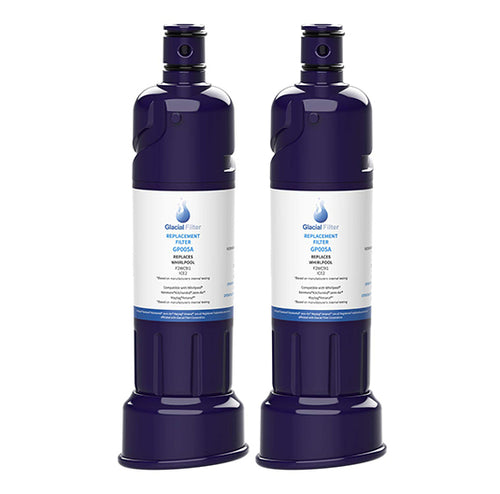 GlacialPure Refrigerator Water Filter 005A For Whirlpool ICE2 F2WC9I1 Ice Maker  (2 PACK)