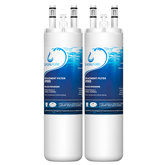 GlacialPure 2Pack compatible with AP4567491, WF3CB, PureSource3