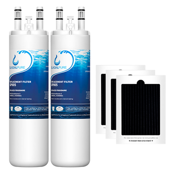GlacialPure Filter AP4567491 for Frigidaire WF3CB, PureSource3 (2-3Pack)