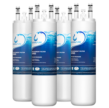 GlacialPure Filter AP4567491 for Frigidaire WF3CB, PureSource3 (4-Pack)