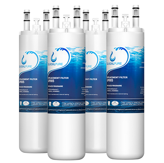 GlacialPure 4Pk compatible with AP4567491, WF3CB, PureSource3