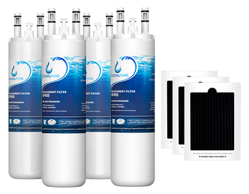 GlacialPure Filter AP4567491 for Frigidaire WF3CB, PureSource3 (4-3Pack)