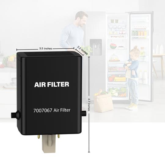 7007067 Refrigerator Air Purification Cartridge 2Pack