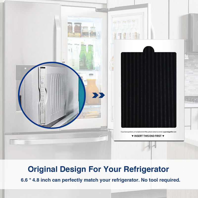 Compatible with PAULTRA Fridge Air Filter Replacement by AIRx (6-Pack)