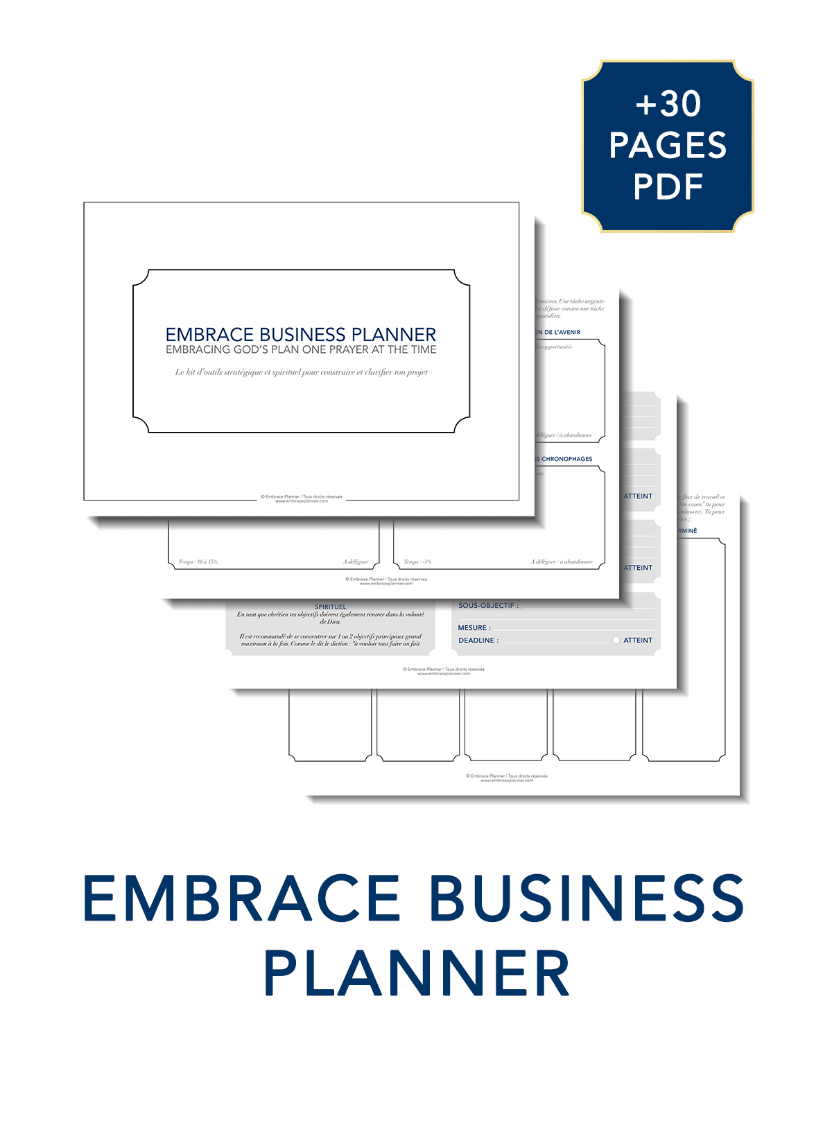Embrace Business Planner - Embrace Planner