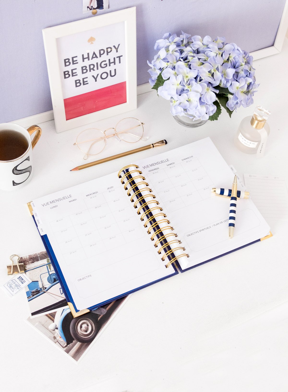 Embrace Planner 2020 - Kit Planner Agenda Chrétien Planification Organisation - Iconic Stripes