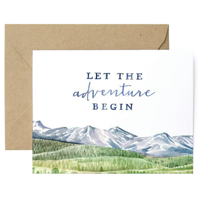Let The Adventure Begin Card