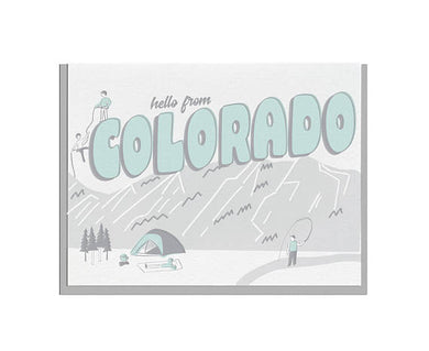 Hello from Colorado Card
