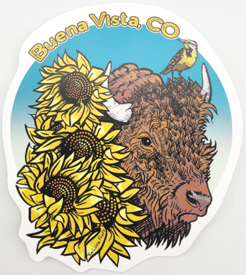Buena Vista Buffalo Sticker