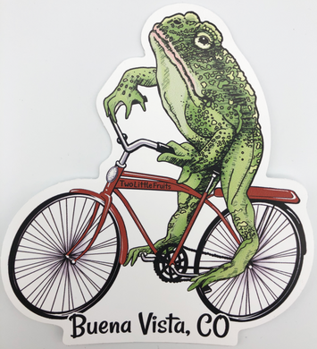 Buena Vista Toadster Sticker