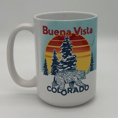 Buena Vista CO Winter Bear Mug