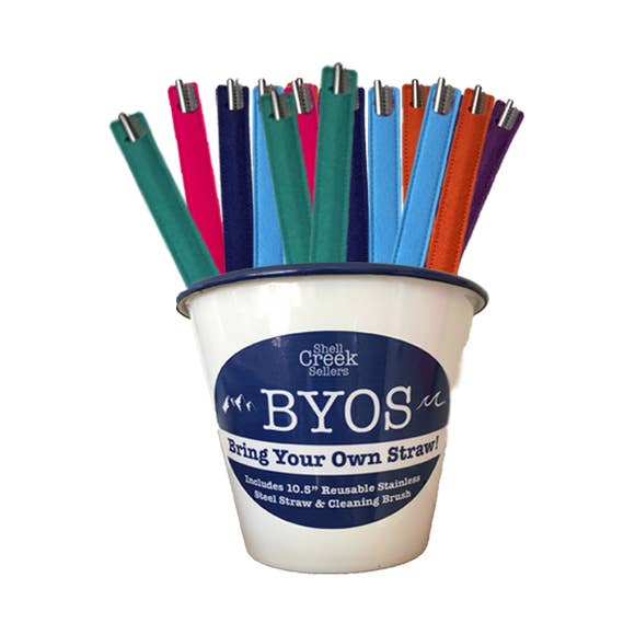 BYOS Stainless Steel Straw