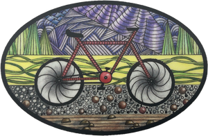 Bike Art Sticker