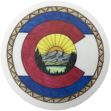 Colorado Art Sticker