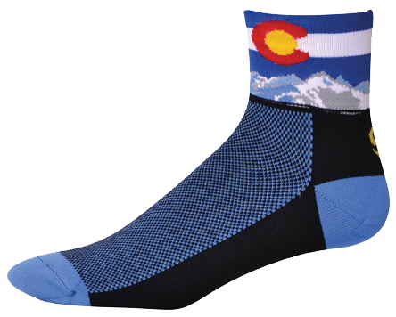 Colorado Black Sock