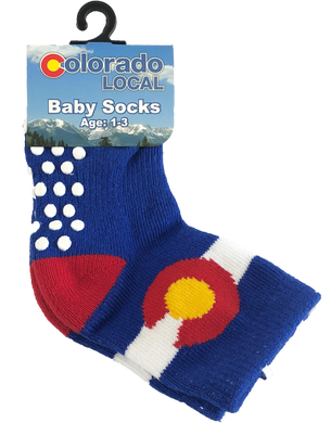 Baby Colorado Local Socks