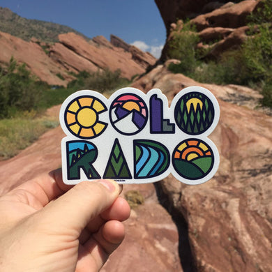 Colorado Name Sticker