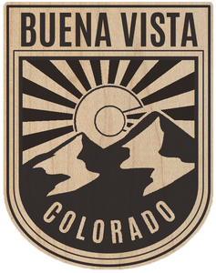 Colorado Badge Buena Vista Sticker
