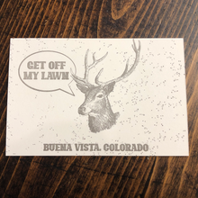 Load image into Gallery viewer, Town Deer Postcard