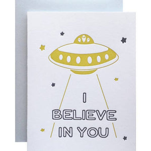 I Believe in You Card