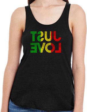 Just Love Rasta Ladies Tank