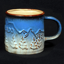 Load image into Gallery viewer, Mountain Trees Mug