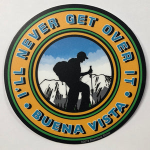 Never Over It Sticker