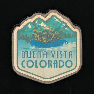 Colorado Rafting Magnet