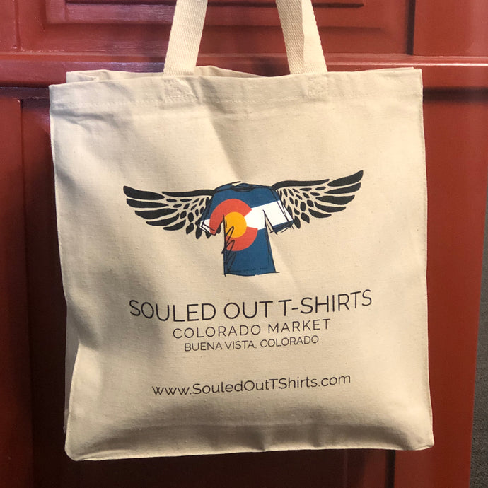 Souled Out Logo Tote