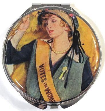 Votes for Women Pill Box