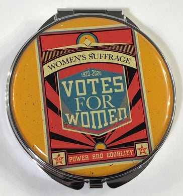 Women's Suffrage Pill Box