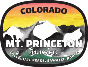 Princeton Watercolor Sticker